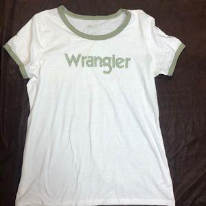 Wrangler t shirt